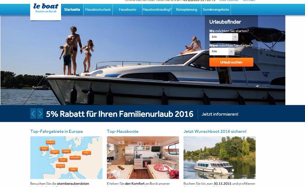 Copyrigth: Le Boat