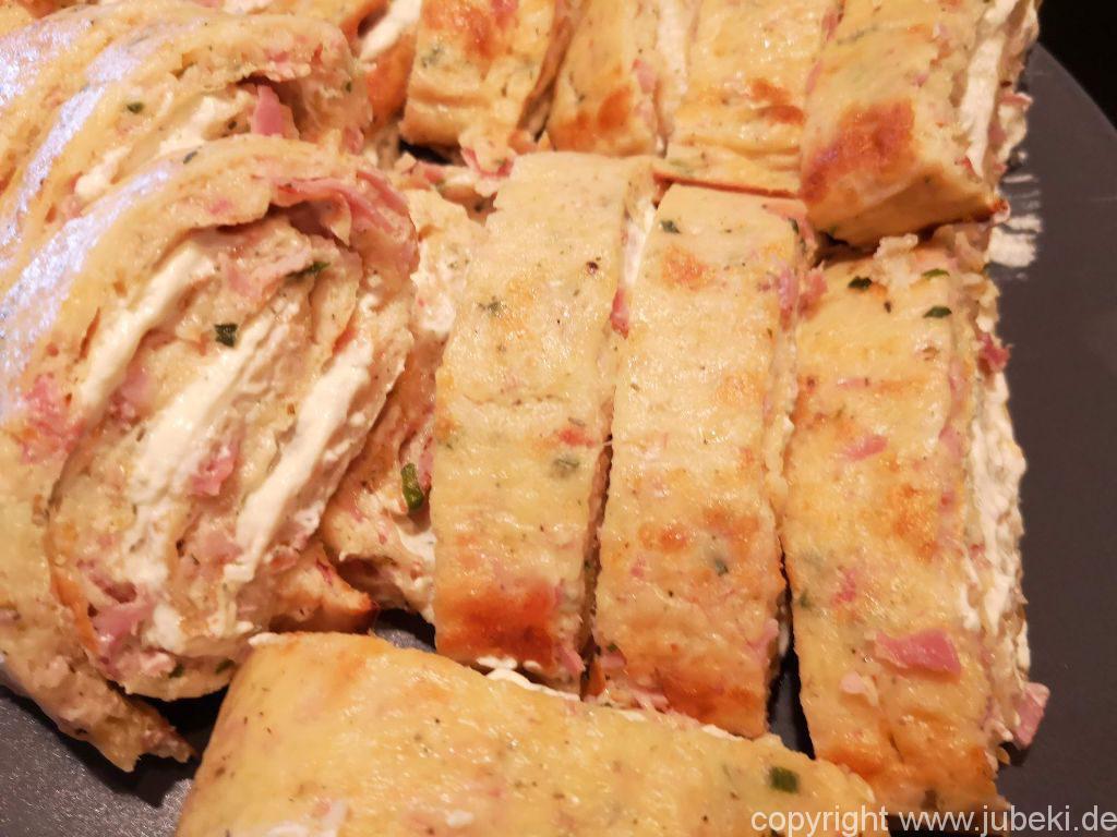 Schinken-Käse-Rolle