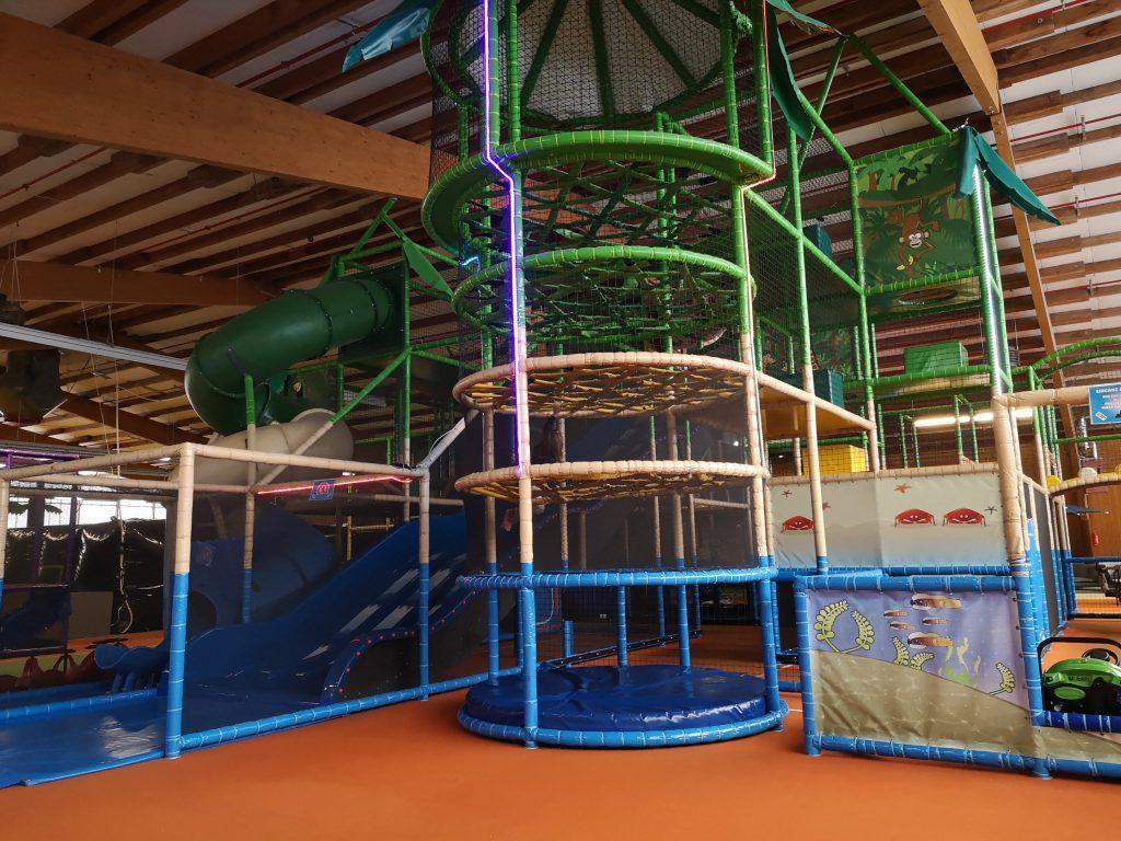 Indoorspielplatz Schulranzen, Hüpfburgen