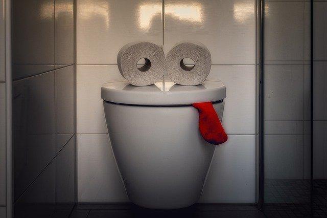 Coronakrise Toilette